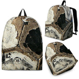 Sport Ball Leather-Look-A-Like Backpacks