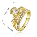 Queen Me Royalty Crown Ring