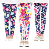 Kids Flowery Leggings