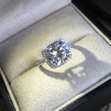 4 Carat Cubic Zirconia Wedding Ring