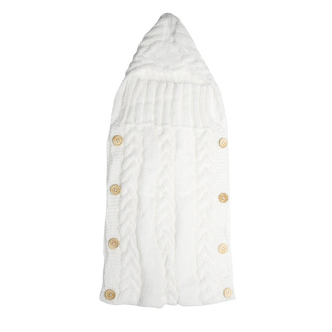 Knitted Swaddle Sleeping Bags for Babies