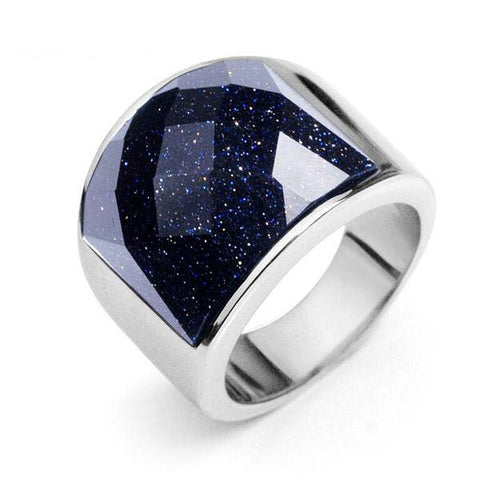 Stainless Steel Galaxy Ring