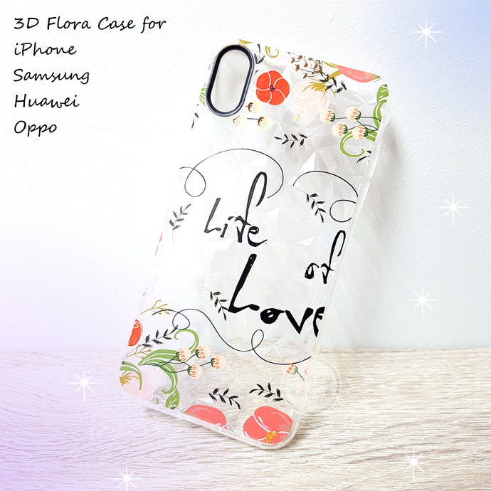 NEW Design Case Arrived!! 3D Flora Case