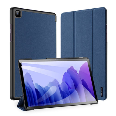 Dux Ducis DOMO Flip Case with S Pen Slot BLUE for Galaxy Tab A7 10.4