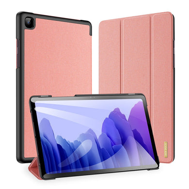 Dux Ducis DOMO Flip Case with S Pen Slot PINK for Galaxy Tab A7 10.4