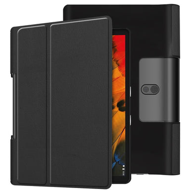 Business Folio Flip Case BLACK for Lenovo Yoga Smart Tab 10.1/Tab 5 YT-X705