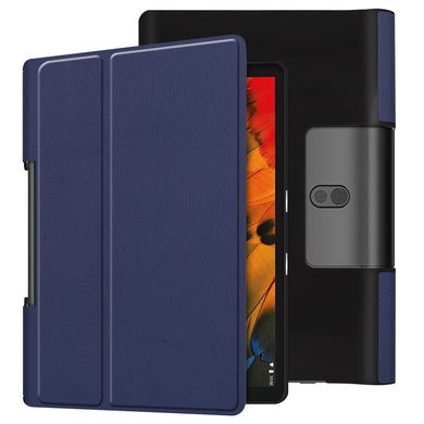 Business Folio Flip Case NAVY for Lenovo Yoga Smart Tab 10.1/Tab 5 YT-X705