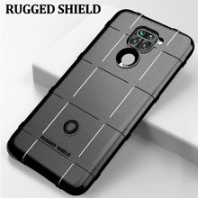 Stealth Black Rugged Shield Case for Xiaomi Redmi Note 9