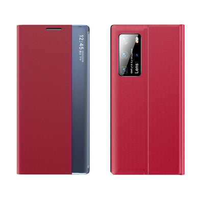 View Window Flip Leather Case RED for Xiaomi Mi 10T / Pro
