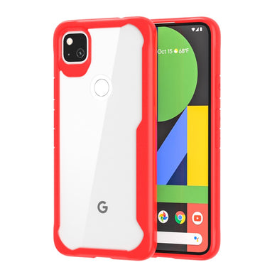 Super Hybrid Case RED for Google Pixel 4A