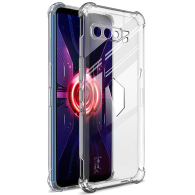 IMAK Airbag Crystal Bumper Case + Screen Film for ROG Phone 3