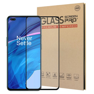 Full Tempered Glass CLEAR (with Black Border) for OnePlus NORD