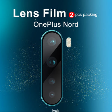 IMAK 2Pcs/Pack High Definition Glass Lens Film for OnePlus NORD