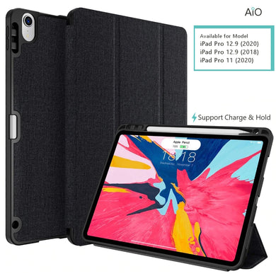 AiO Folio Flip Case for iPad Pro 11 / 12.9 ( 2018 / 2020)