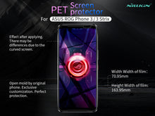 NILLKIN Anti-scratch Matte LCD Screen Protector for Asus ROG Phone 3