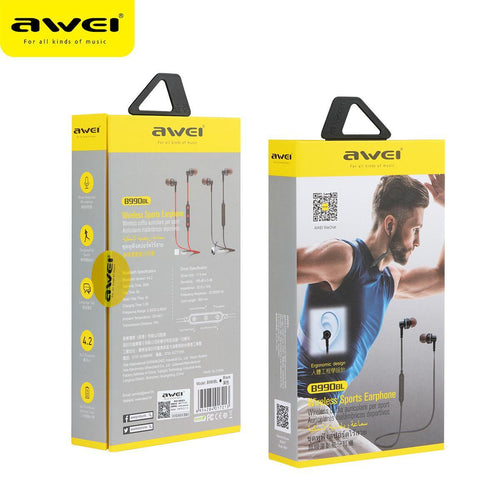 Awei A990B Wireless Bluetooth Sports Earphones