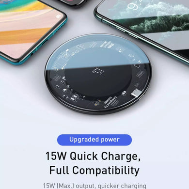 Baseus 15W Magnetic Alignment Wireless Charging Pad