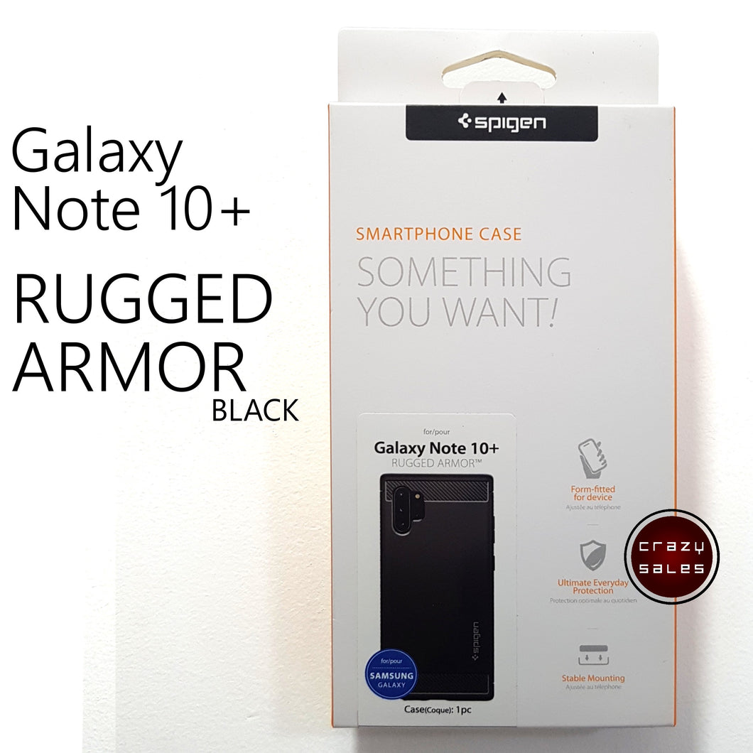 Spigen Rugged Armor for Galaxy Note 10 Plus