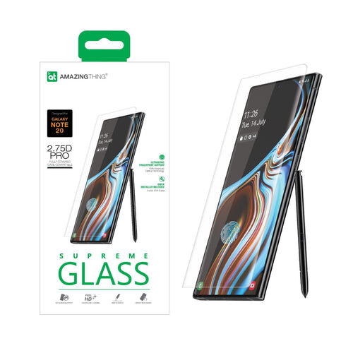 AMAZINGthing Full Tempered Glass Protector for Galaxy Note 20