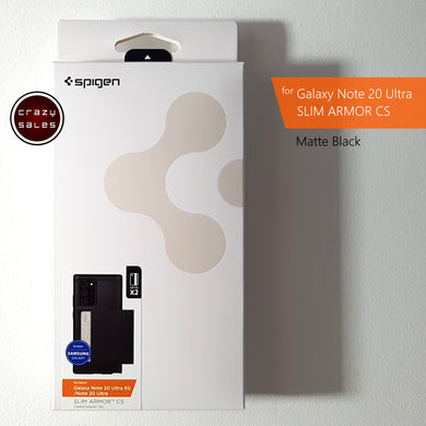 Spigen Slim Armor CS Case MATTE BLACK for Galaxy Note 20 Ultra
