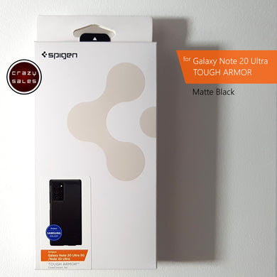 Spigen Tough Armor BLACK for Galaxy Note 20 Ultra