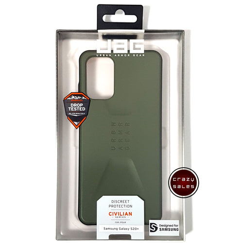 UAG Civilian Series Case OLIVE DRAB for Galaxy S20 Plus