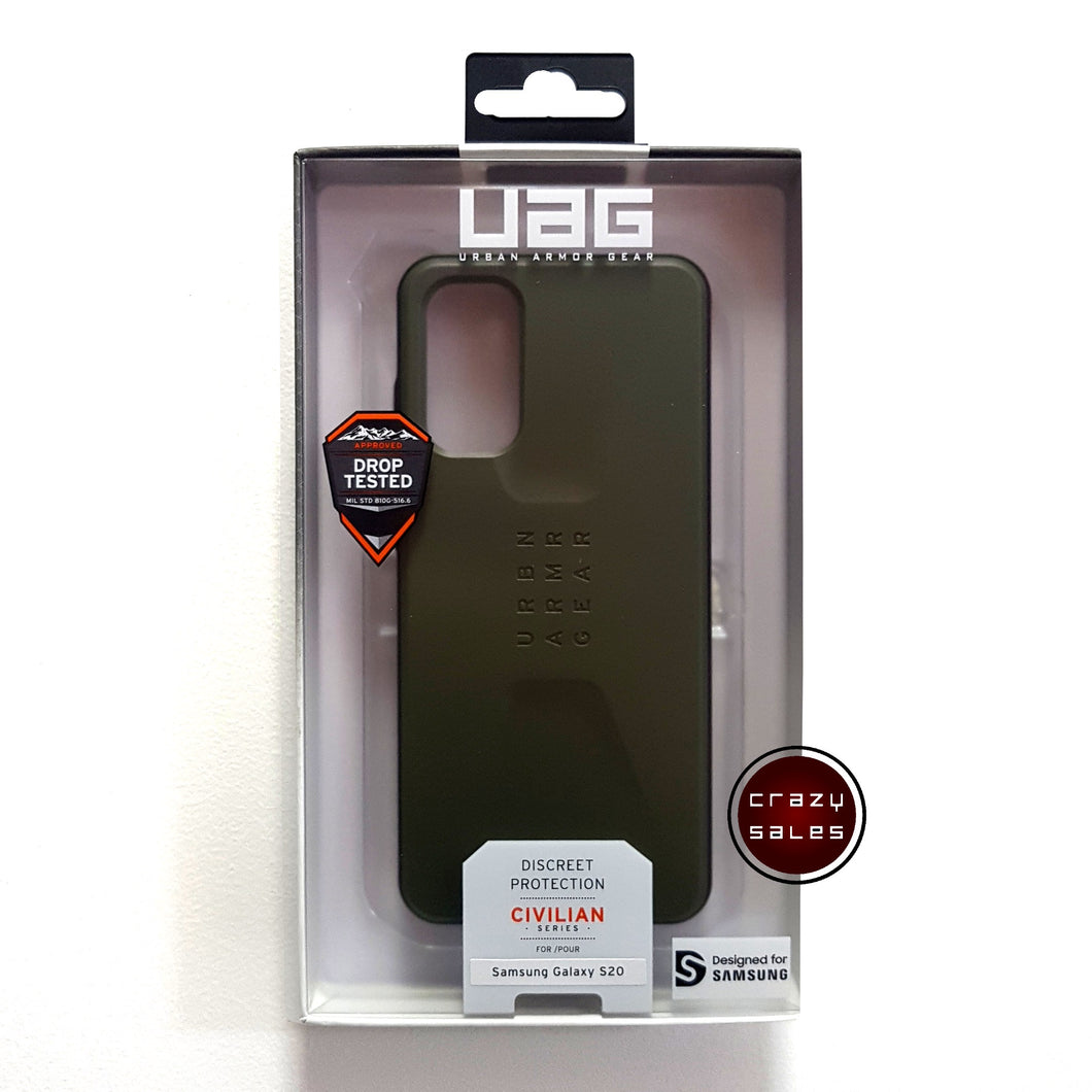 UAG Civilian Series Case OLIVE DRAB for Galaxy S20