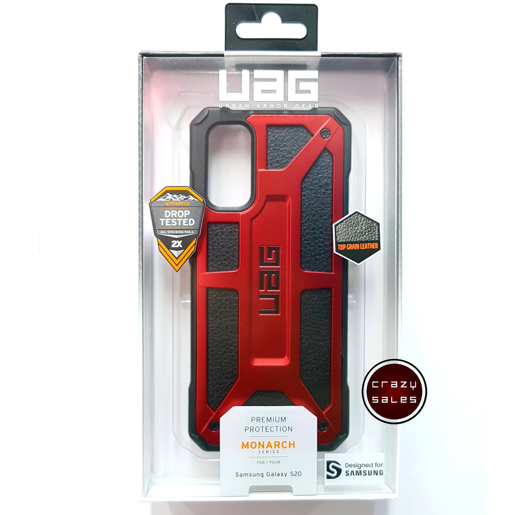 UAG Monarch Case CRIMSON RED for Galaxy S20