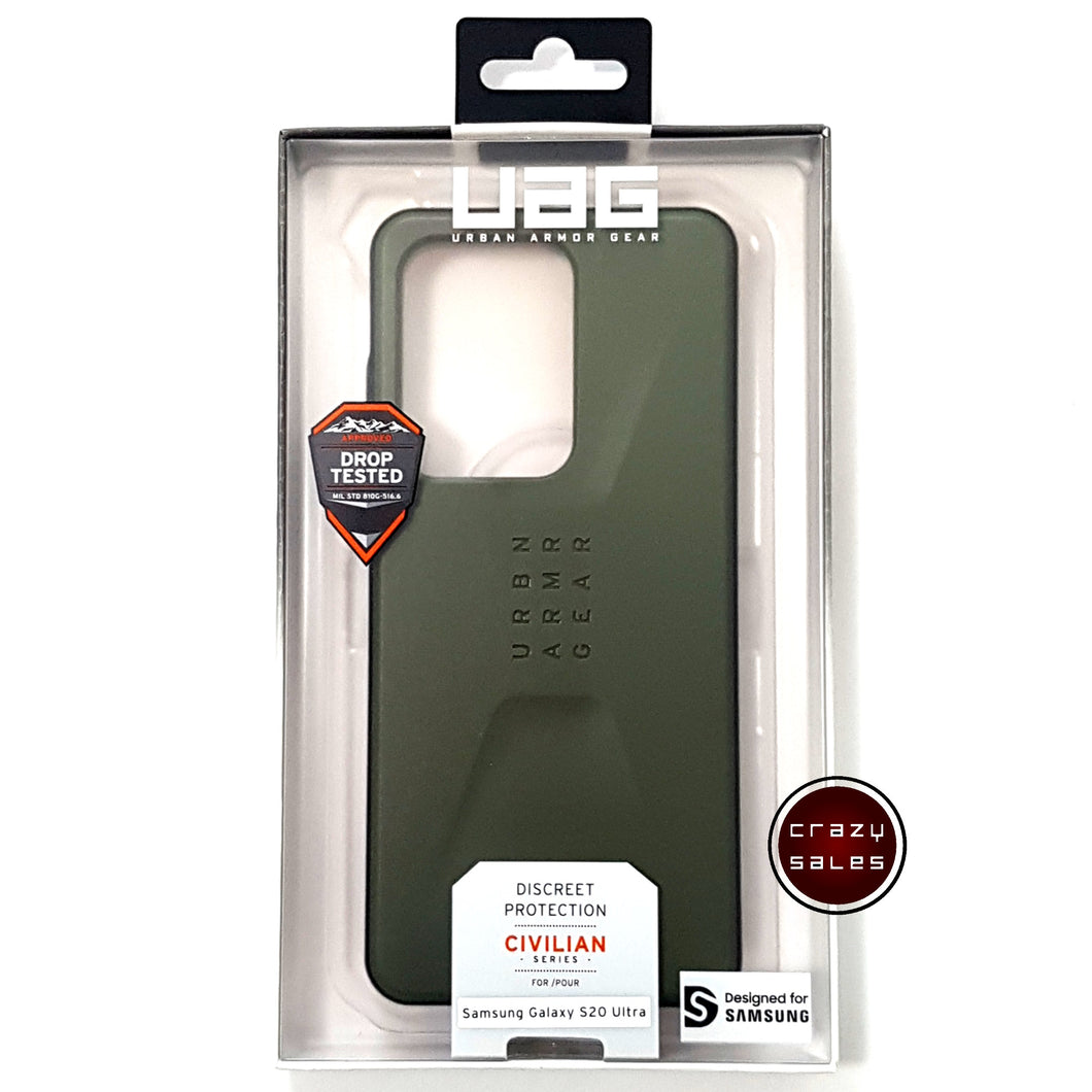 UAG Civilian Series Case OLIVE DRAB for Galaxy S20 Ultra