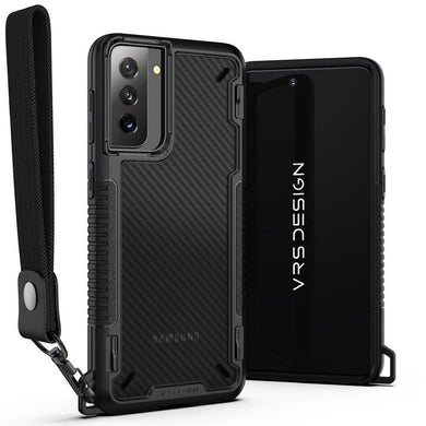 VRS Design Crystal Mixx Pro Case BLACK CARBON for Samsung Galaxy S21 Plus