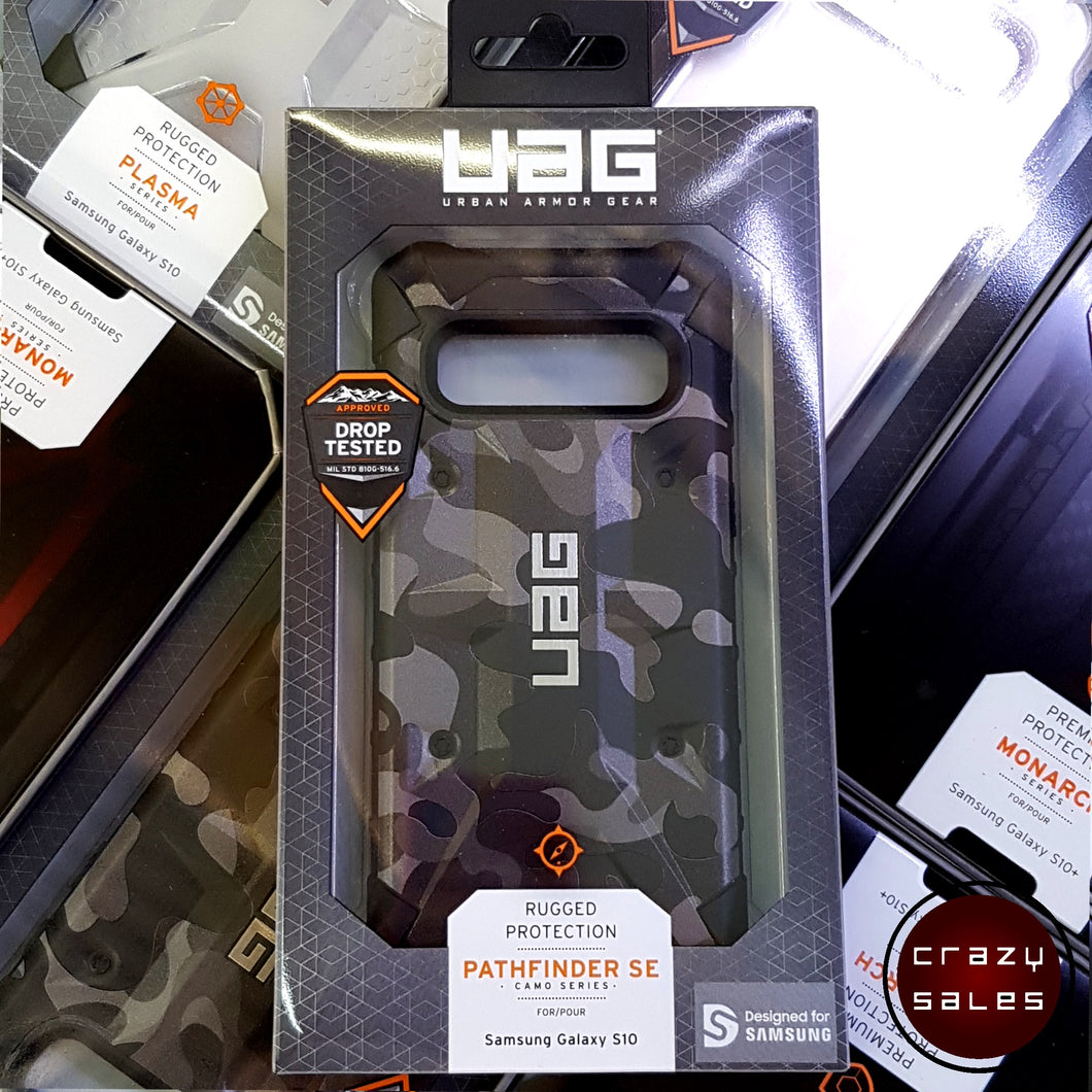 UAG Pathfinder SE Camo Case MIDNIGHT for Galaxy S10
