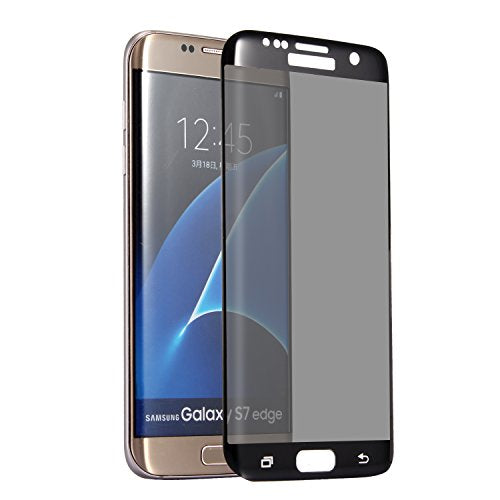 Privacy Curved FULL Tempered Glass (Easy Installation) for Galaxy S7 Edge