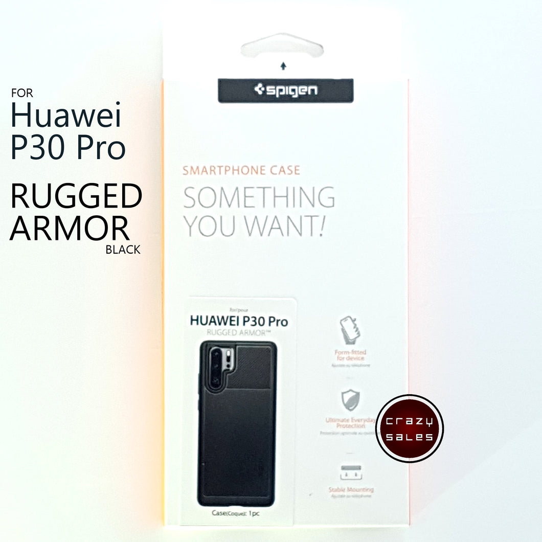 Spigen Rugged Armor Case for Huawei P30 Pro