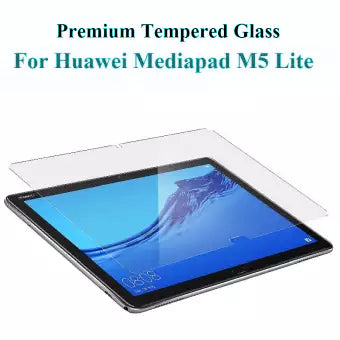 9H Clear Tempered Glass Protector for Huawei MediaPad M5 Lite 10.1