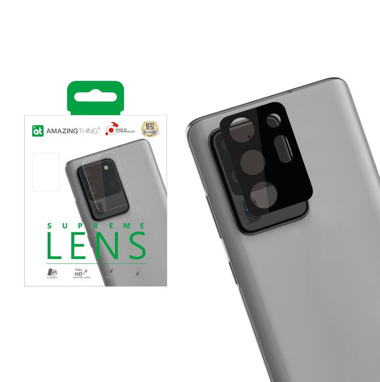 AMAZINGthing 3D Camera Len Supreme Glass Protector for Galaxy Note 20 Series