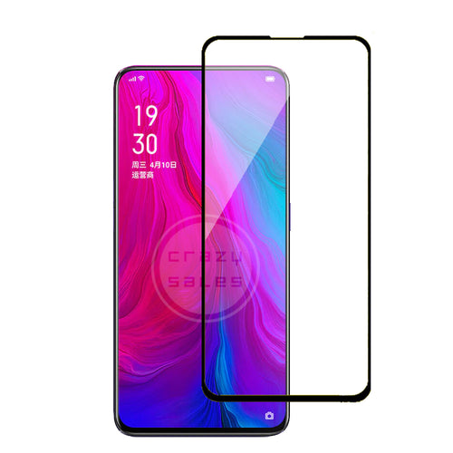 9H Full Coverage Clear Tempered Glass (Black Border) for Oppo Reno 10X Zoom