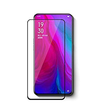 9H Full Coverage Clear Tempered Glass (Black Border) for Oppo Reno 2Z
