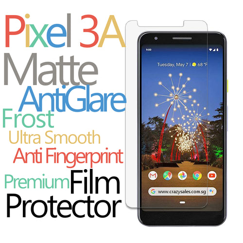 Premium Matte Film Protector for Pixel 3A / 3A XL