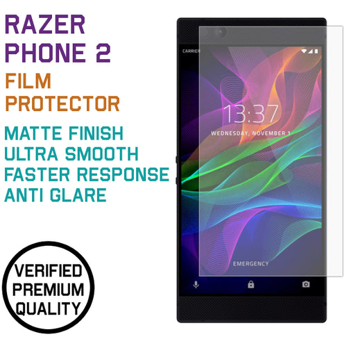 Premium Matte Film Protector for Razer Phone 2 (2018)