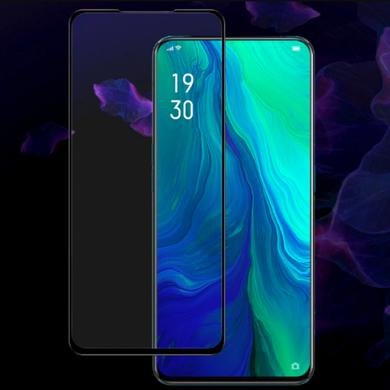 9H Full Coverage Clear Tempered Glass (Black Border) for Oppo Reno / Reno 2