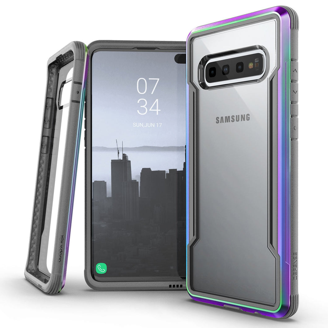 X-DORIA Defense Shield Case IRIDESCENT for Galaxy S10