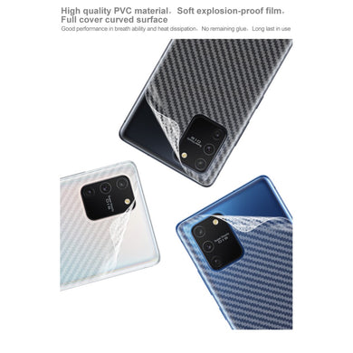 IMAK Carbon Back Film Protector for Galaxy S10 Lite