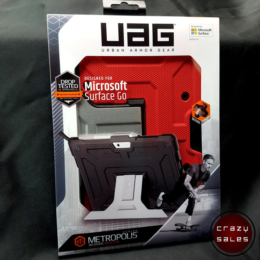 UAG Metropolis Series Case MAGMA for Microsoft Surface GO 2 / 1