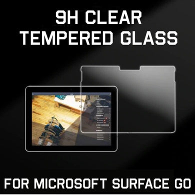 9H Clear Tempered Glass Protector for Microsoft Surface GO