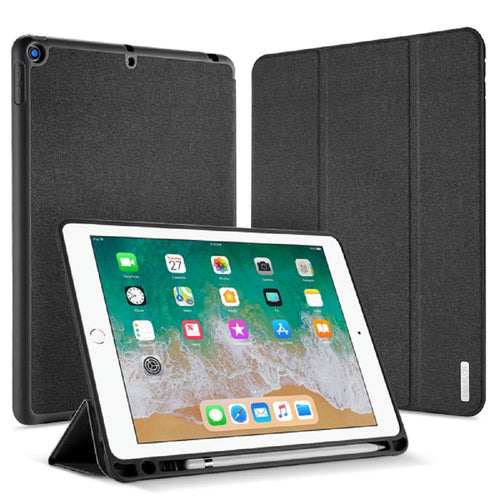 Dux Ducis DOMO Series Folio Case with PENCIL HOLDER for iPad Air 10.5 / Pro 10.5