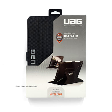 UAG Metropolis Flip Case BLACK for iPad Air (3rd Gen, 10.5