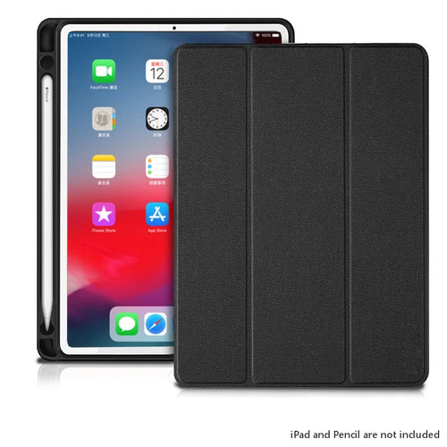 Business Folio Flip Case for iPad Pro 12.9 (2020) with PENCIL Slot