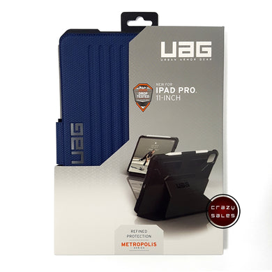 UAG Metropolis Series Case COBALT BLUE for iPad Pro 11 (2nd Gen, 2020)