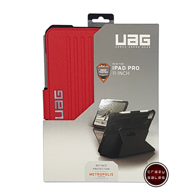 UAG Metropolis Series Case MAGMA RED for iPad Pro 11 (2nd Gen, 2020)