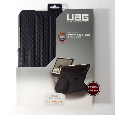 UAG Metropolis Series Case BLACK for iPad Pro 12.9 4th Gen (2020)